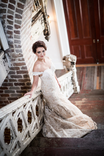 Bridal Portrait at Felicity Church Wedding Venue