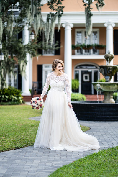 New Orleans Bridal Portrait at Southern Oaks
