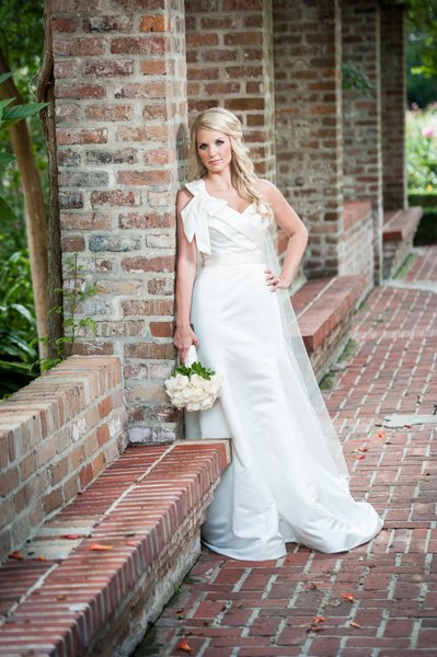 Bride in the Botanical Garden in New Orleans City Park