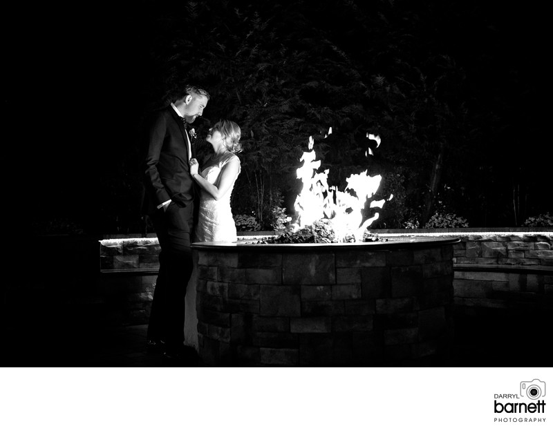 Best Lucien's Manor fire pit night photographer