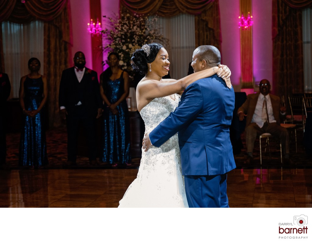 lucien's manor first dance wedding pictures