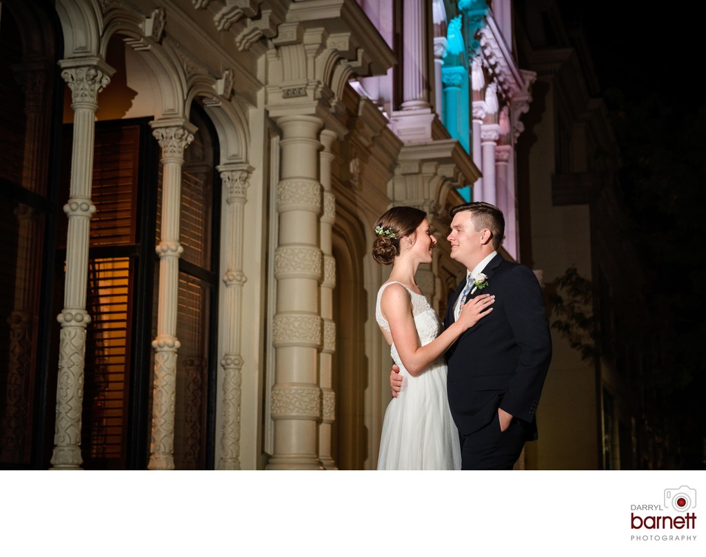 downtown wilmington wedding pictures