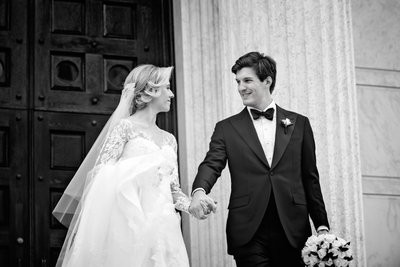 princeton university wedding portraits