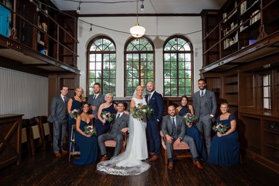Community House of Moorestown wedding