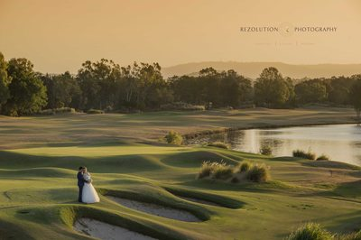Golf Course Wedding Photographer Gold Coast