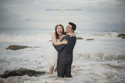 Best Wedding Photographer Snapper Beach Gold Coast