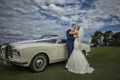 Classic Car Wedding Photographer Gold Coast