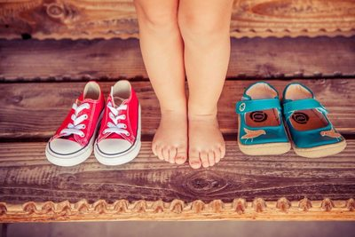 Phoenix Family Portraits - Toddler Feet and Shoes