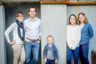 Phoenix Family Photography Session - Concrete