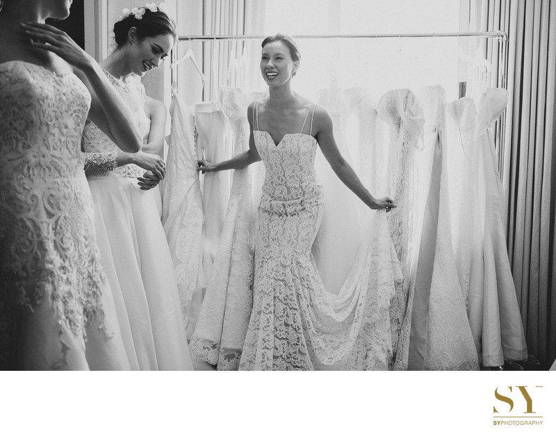 Sareh Nouri bridal market backtage SYPhotography