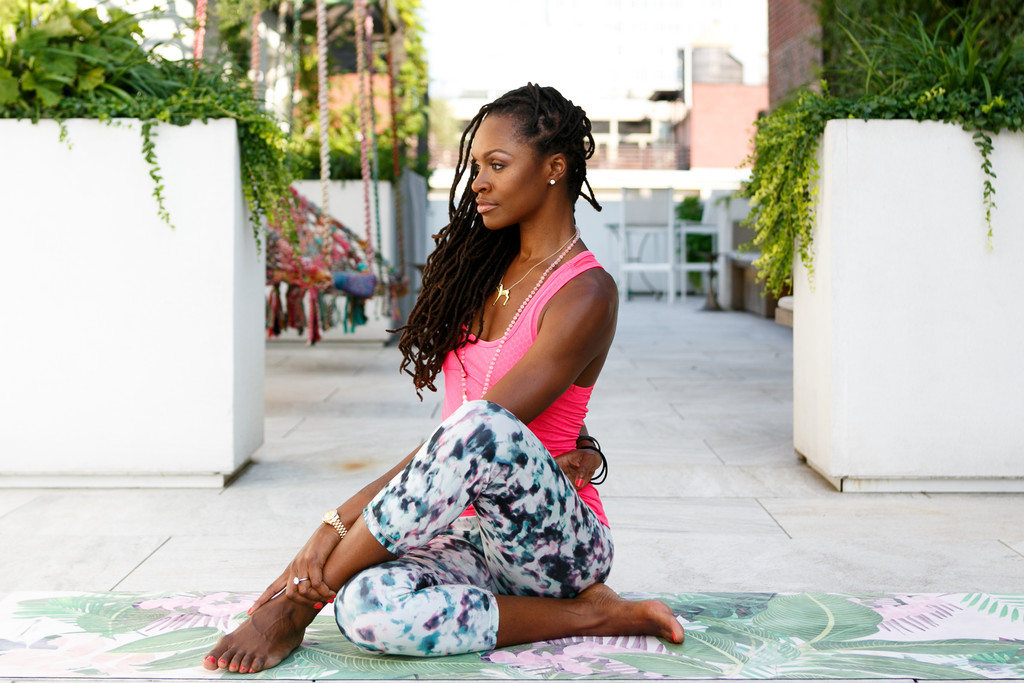 Yoga Lifestyle portrait photographer