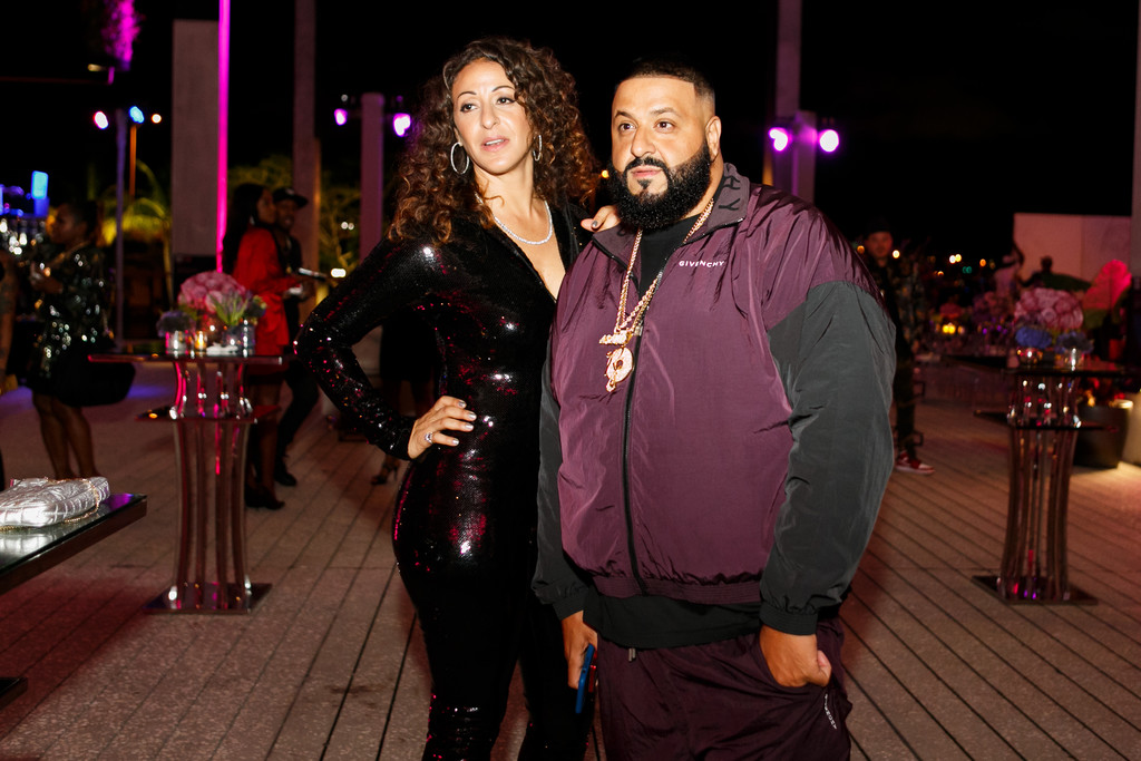 DJ Khaled And Nicole Tuck Birthdays At PAMM