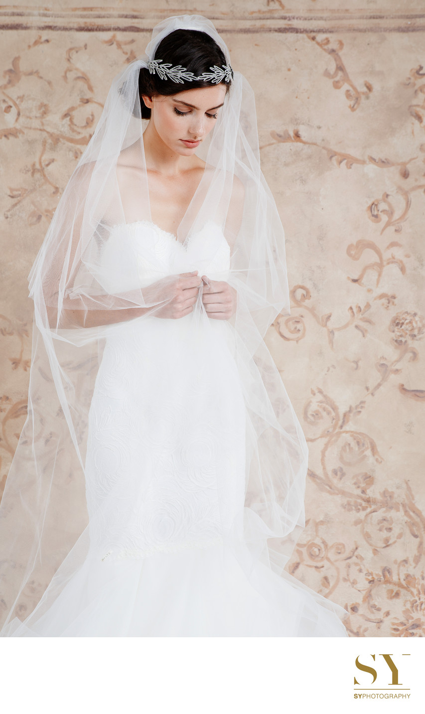 Bridal fashion lookbook Studio photography