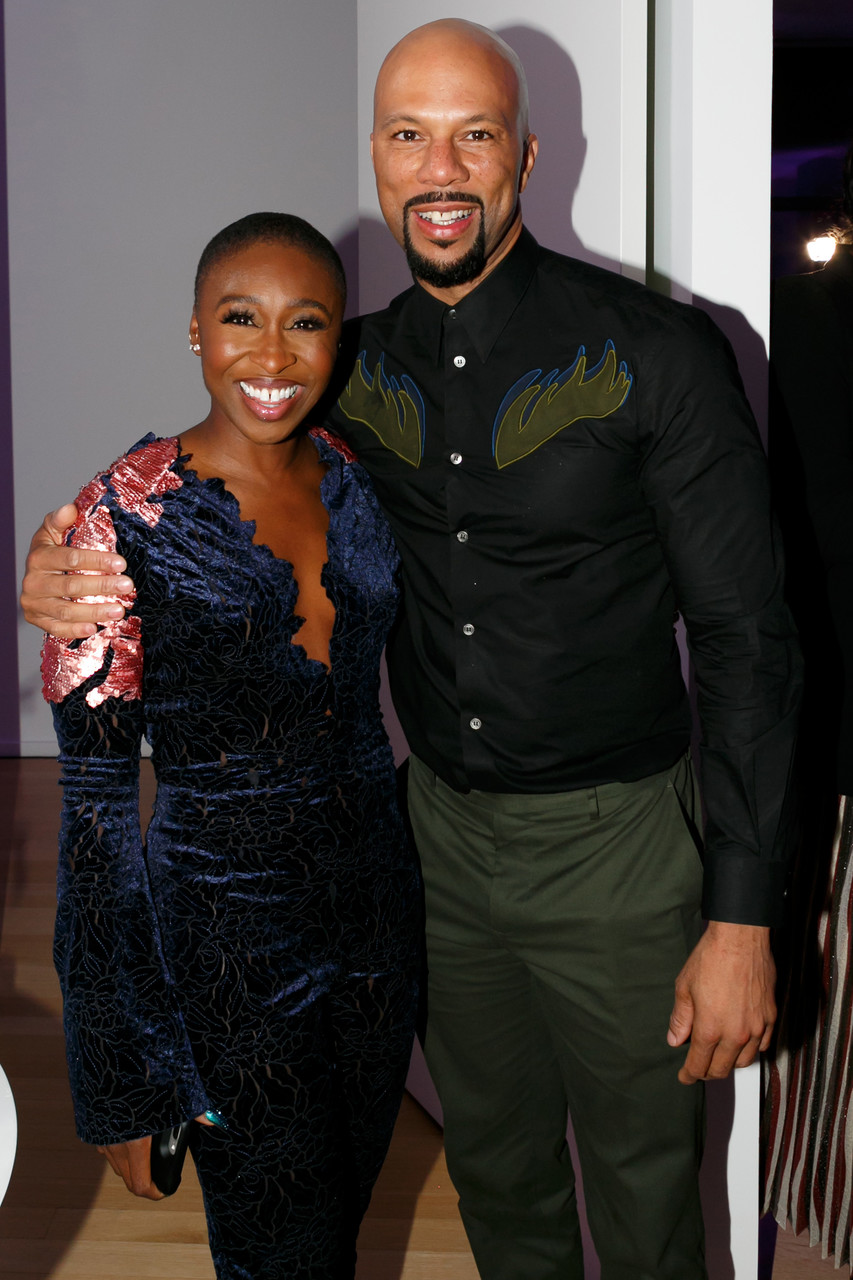 Singer Cynthia Erivo and rapper Common