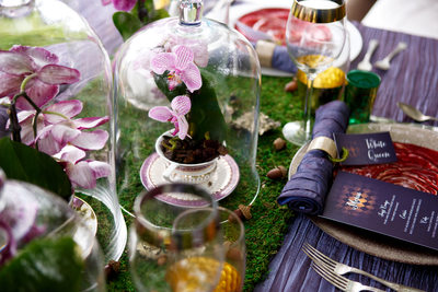 wedding tablescape inspiration Alice in wonderland