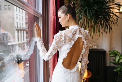 Designer Alon Livné bridal fashion photoshoot NYC