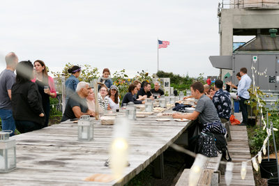 Brooklyn Grange farm-to-table lunch