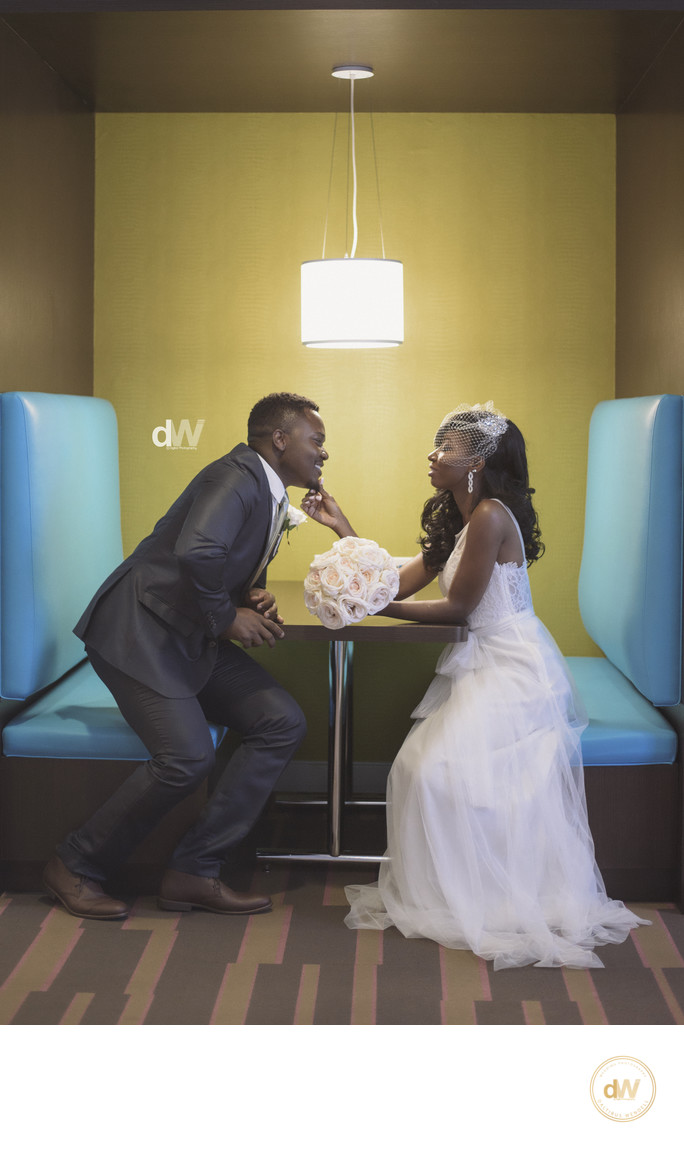 African Court Wedding In Orlando, Florida
