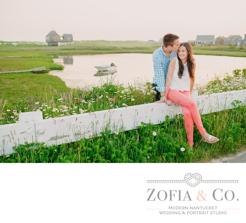 Engagement Photos in Madaket Nantucket