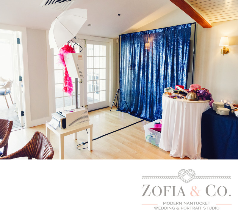 Zofia StudioBooth Nantucket Photo Booth Setup