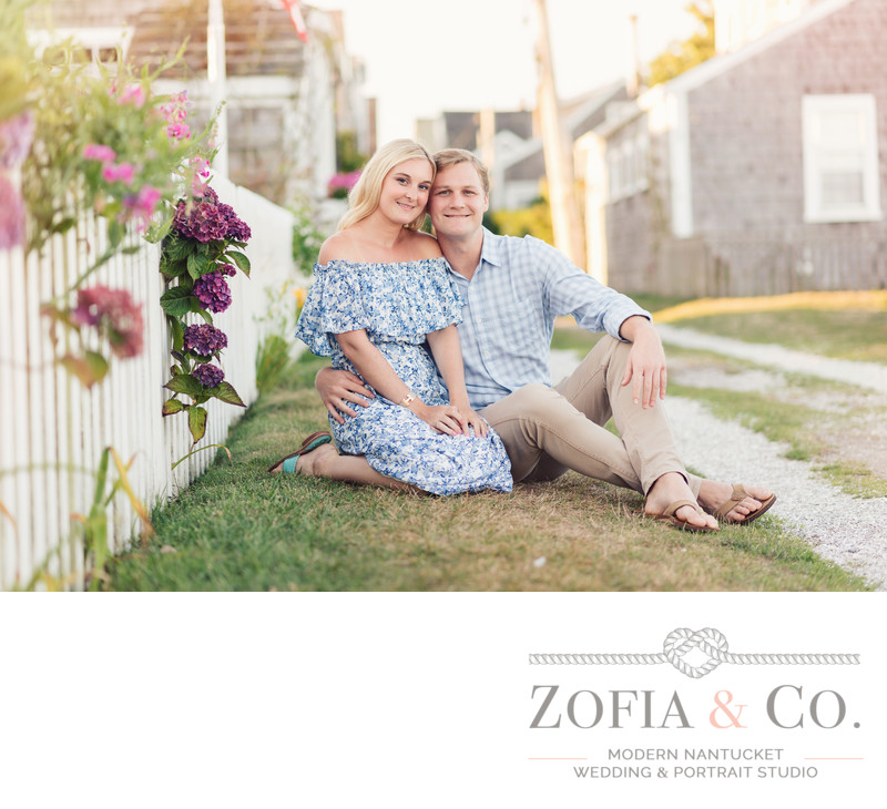 front street nantucket engagement