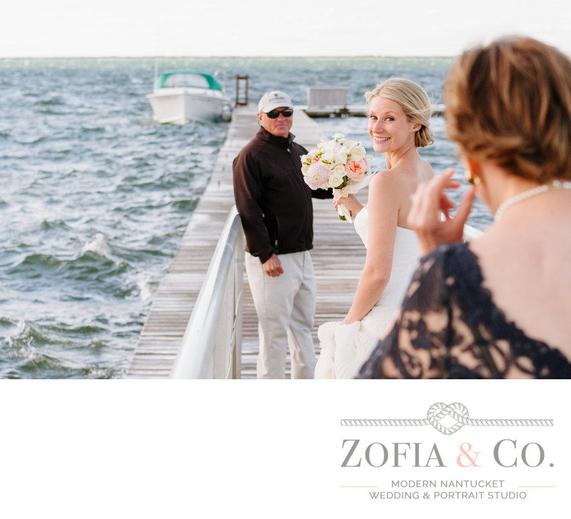 Nantucket wedding photography at Wauwinet