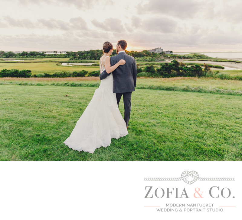 nantucket bride groom watch shawkemo sunset
