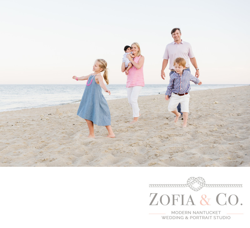 family beach portrait photographer