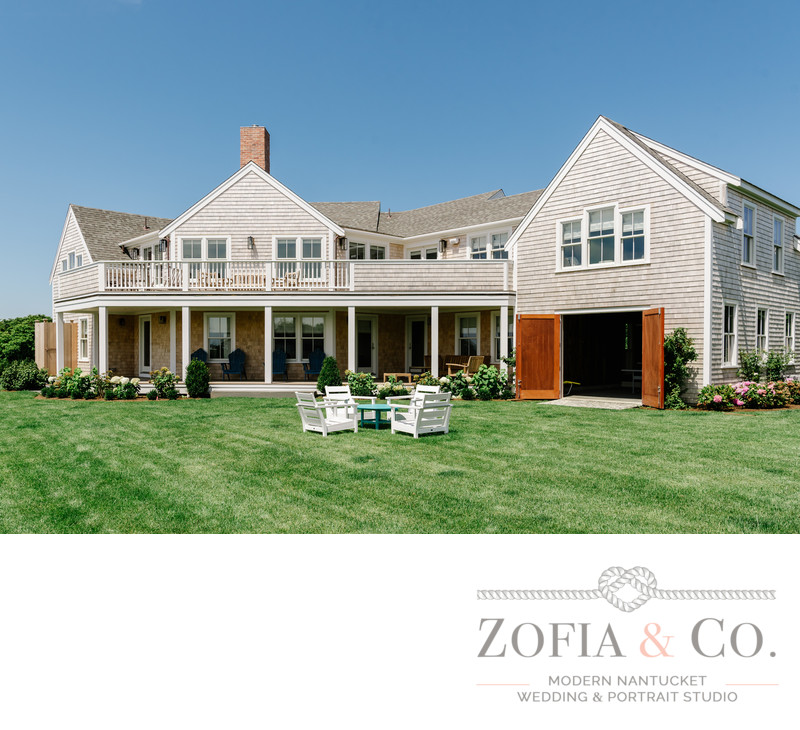 exterior nantucket home