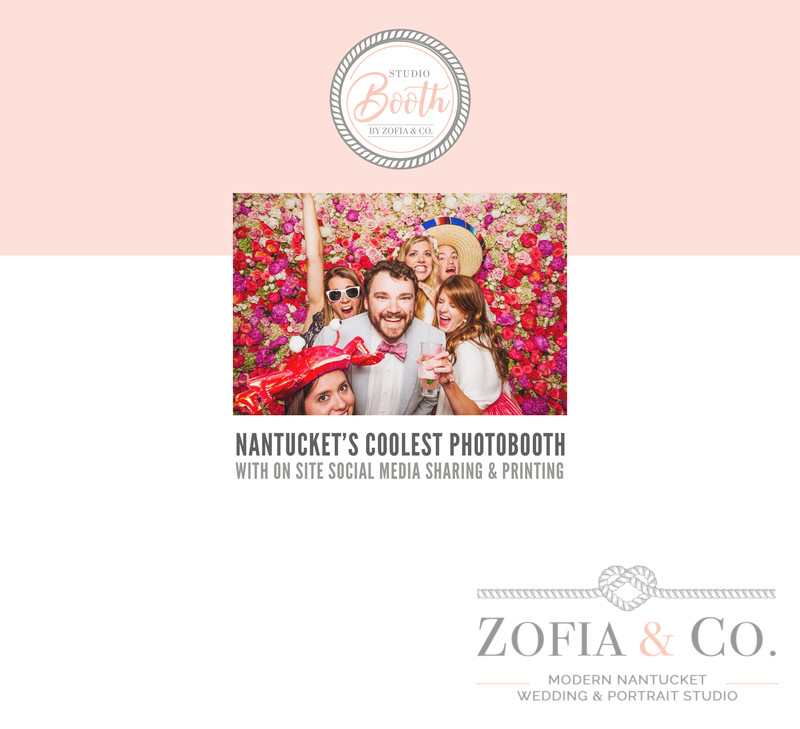 Nantucket photo booth Zofia StudioBooth