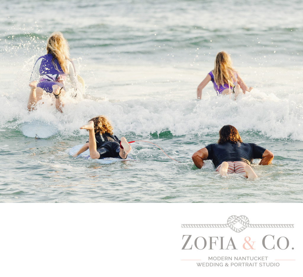 nantucket surf family portraits