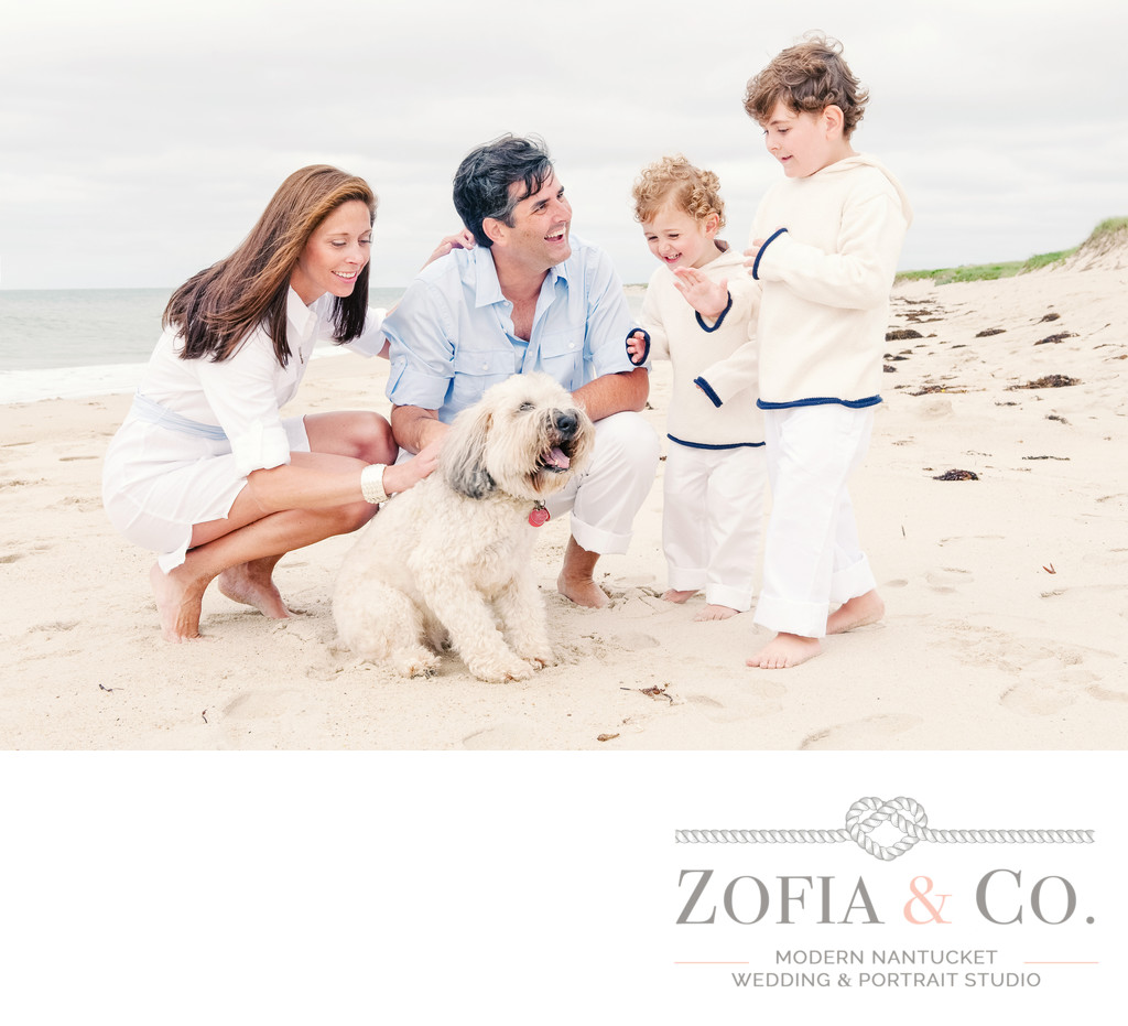 Nantucket Family Portrait Session