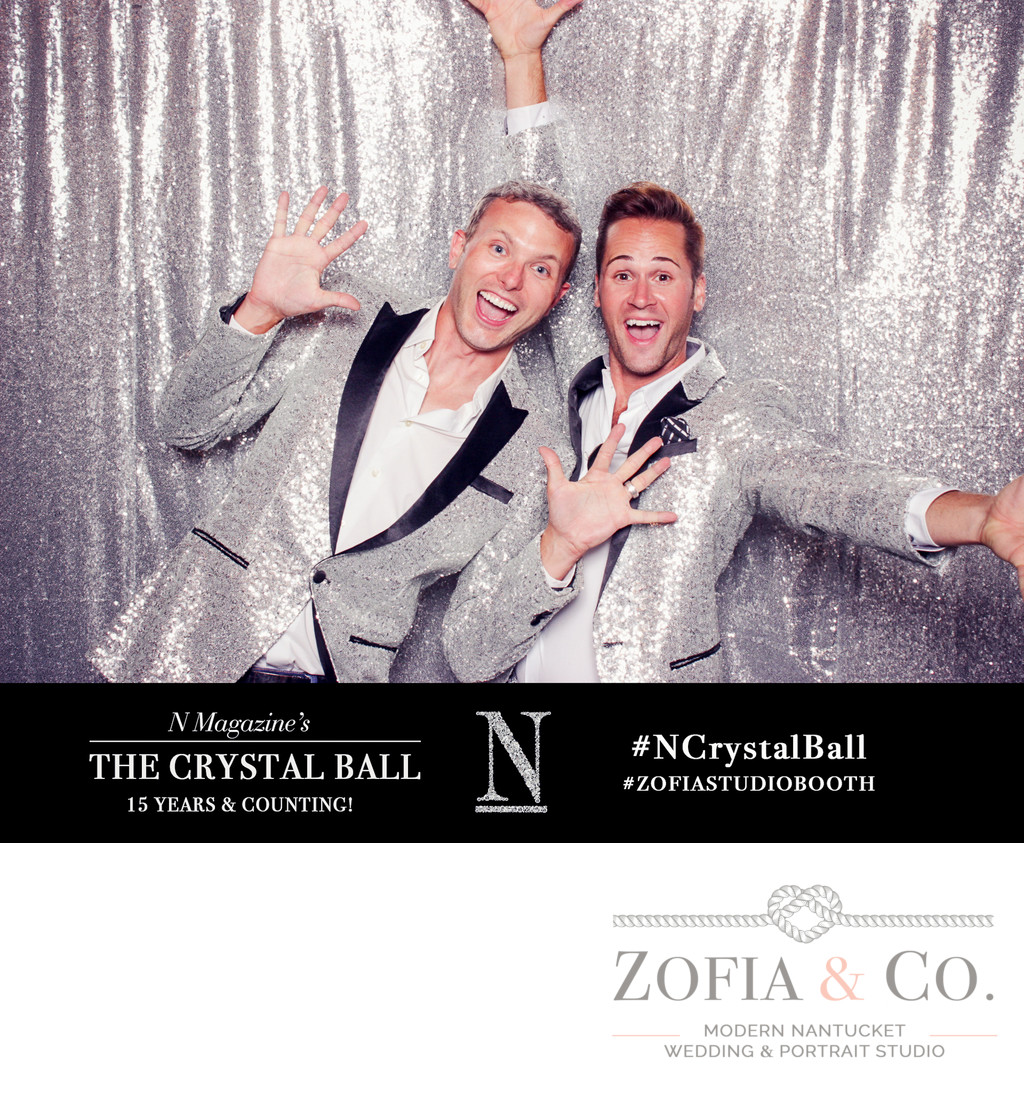 silver photo booth nantucket magazine zofia studiobooth