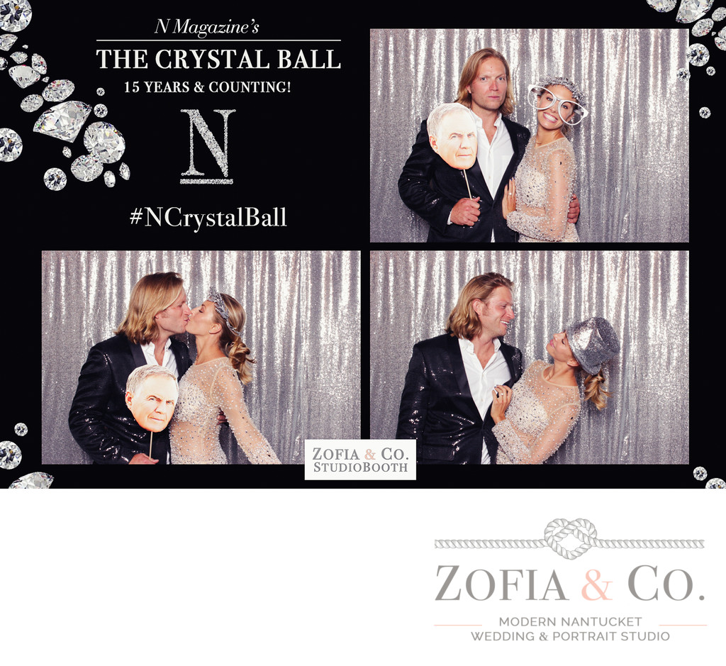 crystal ball nantucket magazine silver party