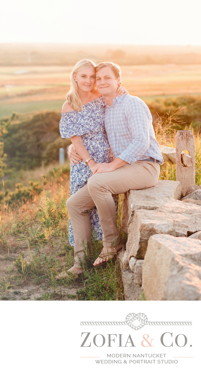 sankaty sunset engagement