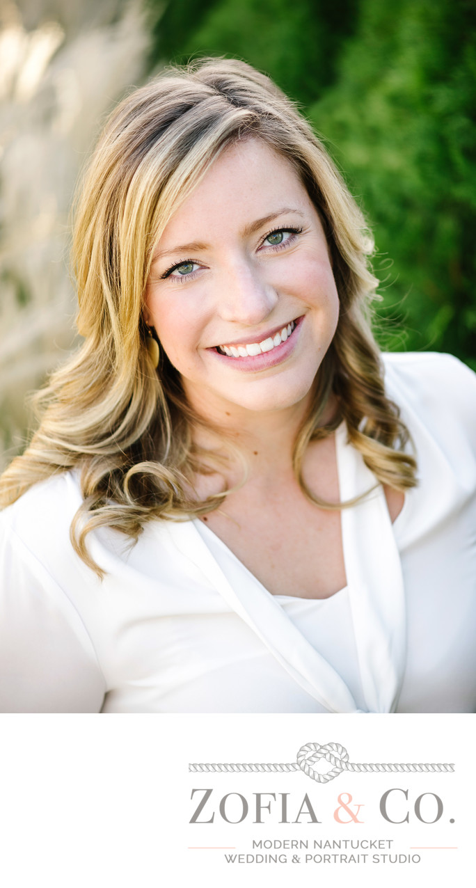 Blond Female Business Headshot
