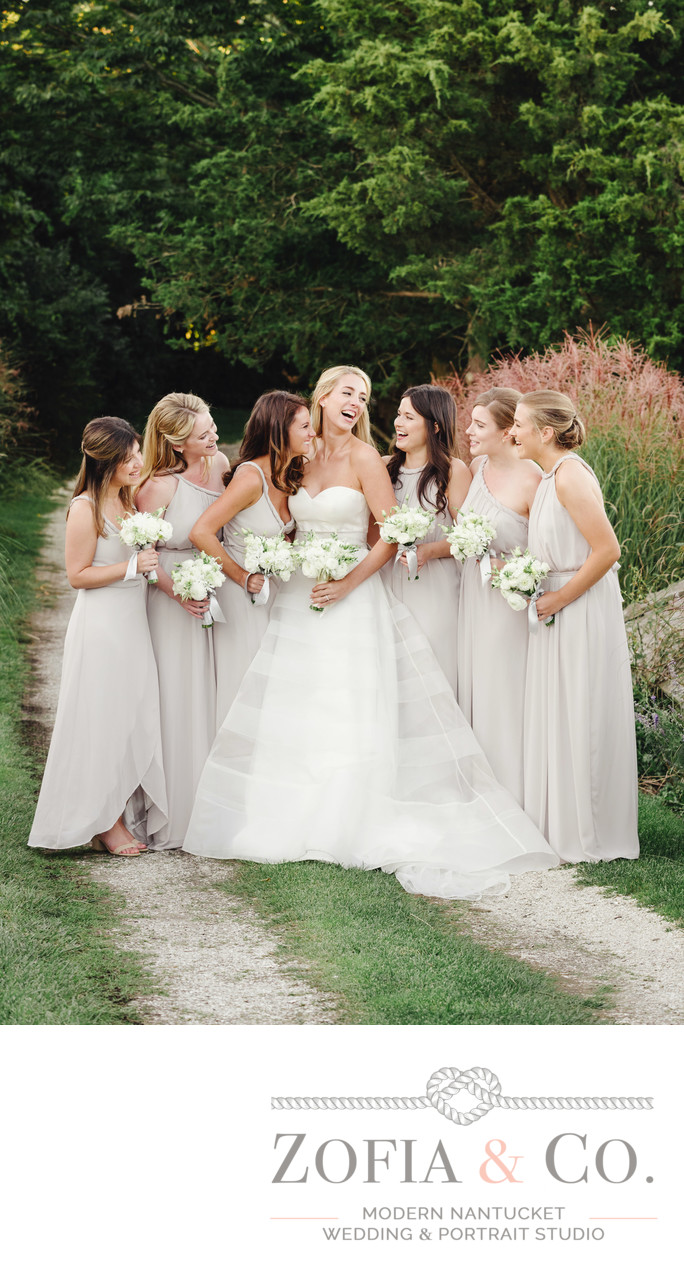 Kelly Faetanini gown joanna august nantucket bridesmaids