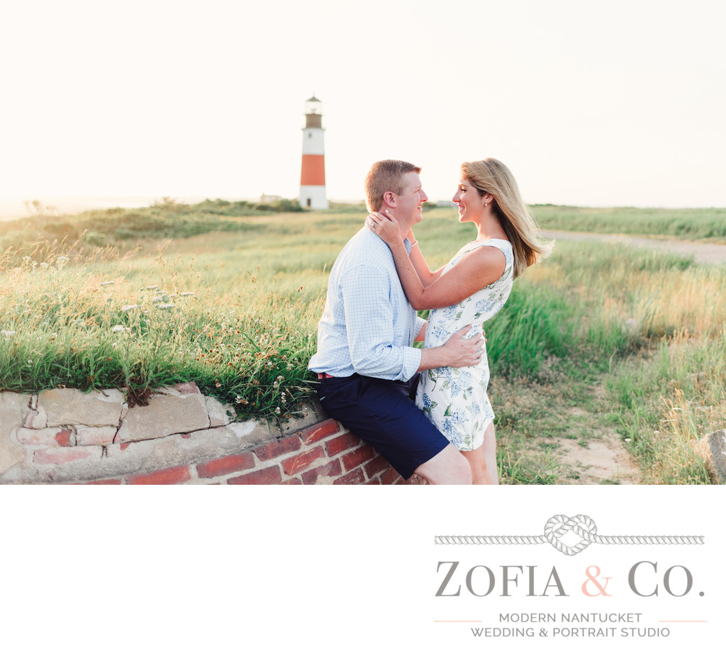 sankaty lighthouse spring engagement kjp dress