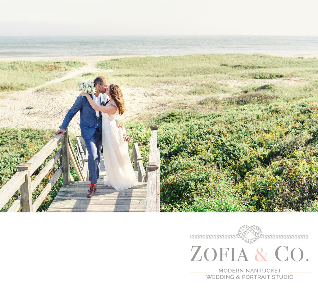 tom nevers beach wedding