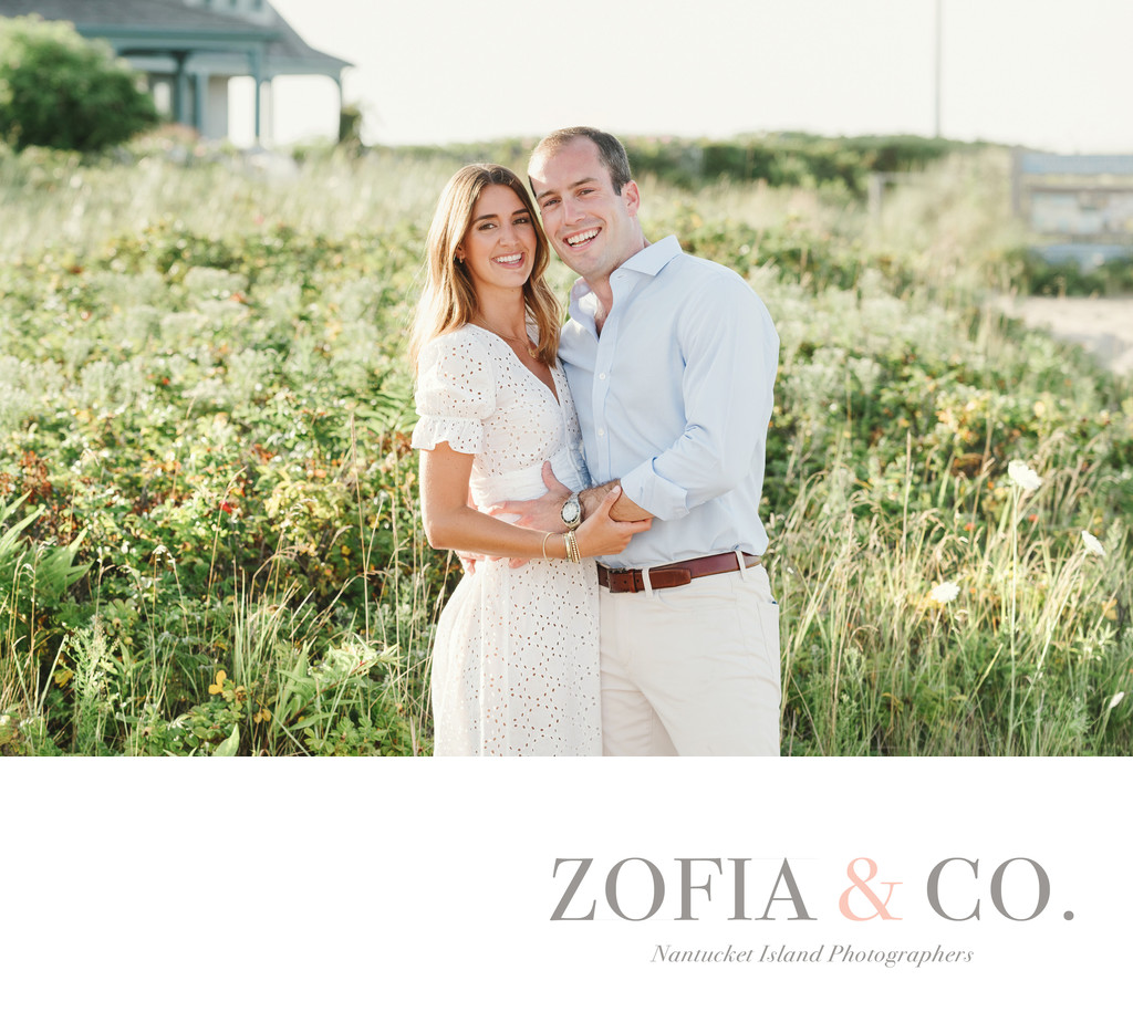 Nantucket Engagement Session Photographer Brant Point