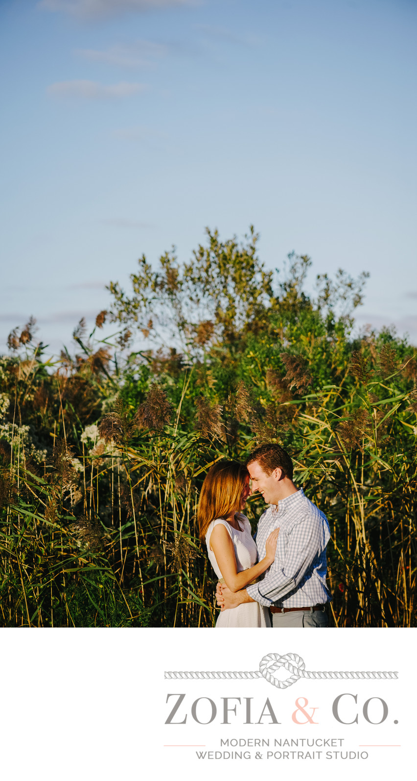 Fun Nantucket Engagement