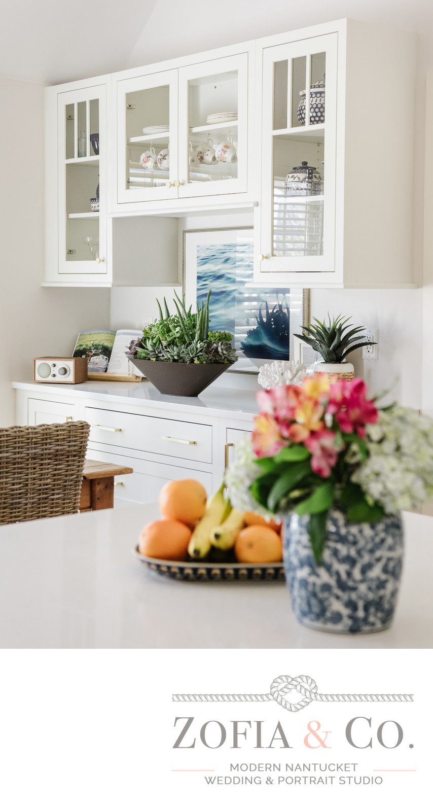 Nantucket interior design photographer