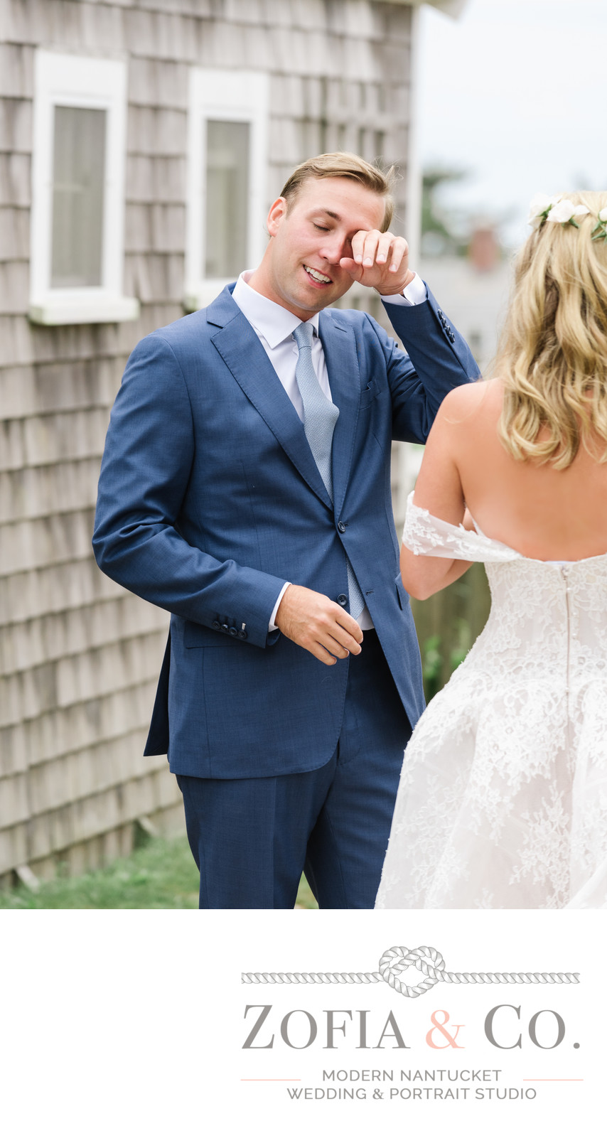 groom tears up sconset nantucket