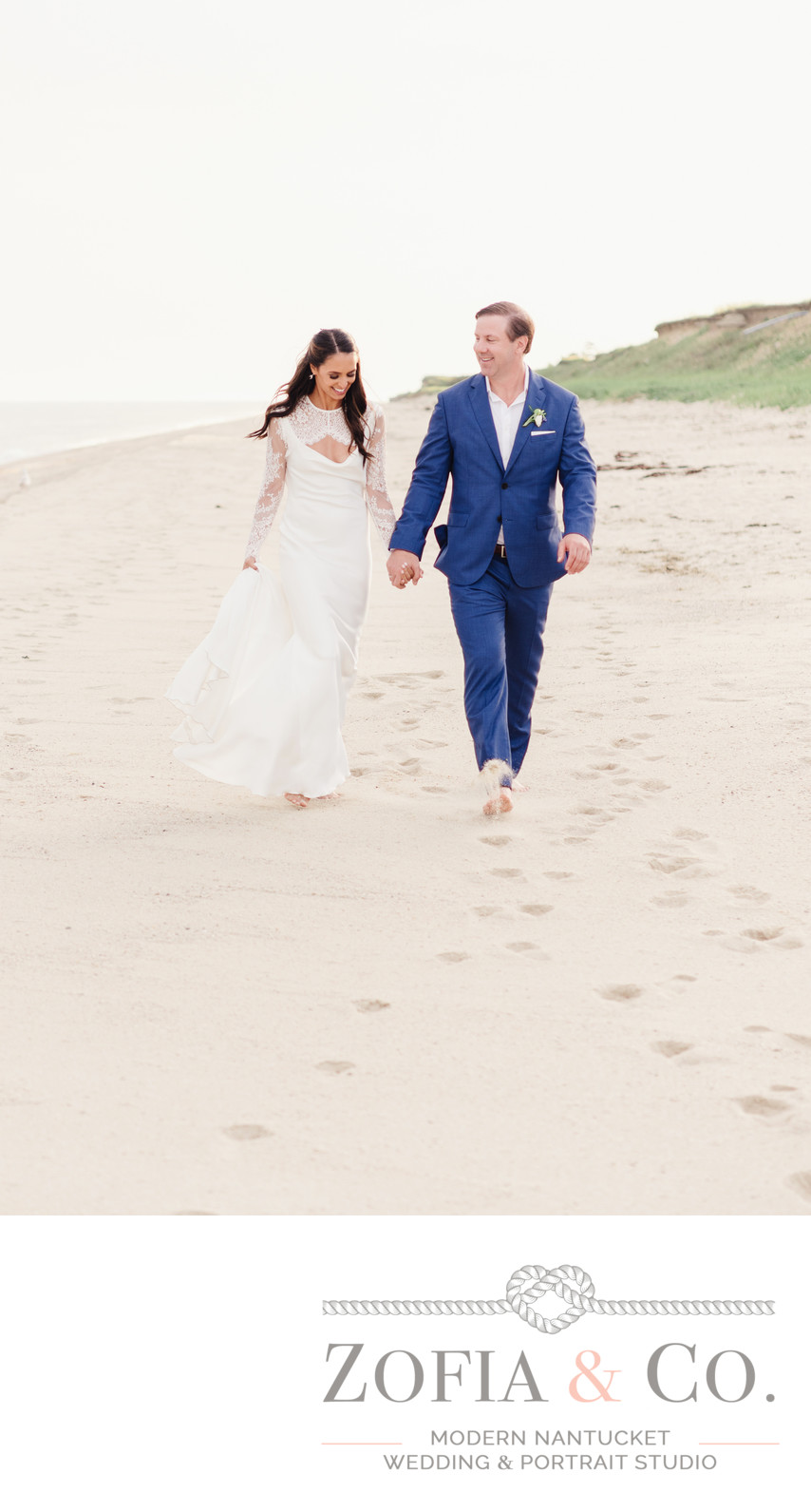 tom nevers wedding couple Pronovias bride
