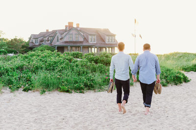 holding hands at brant point