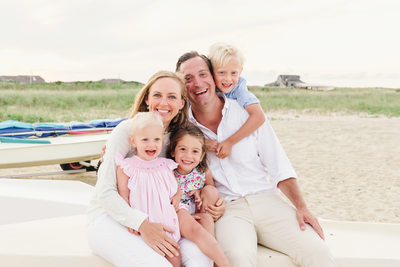 relaxed nantucket portraits