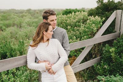 fall engagement sessions on nantucket