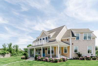 Nantucket exterior real estate photography