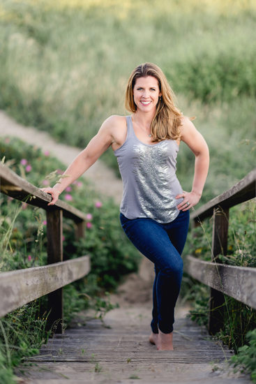 Nantucket female personal trainer headshot
