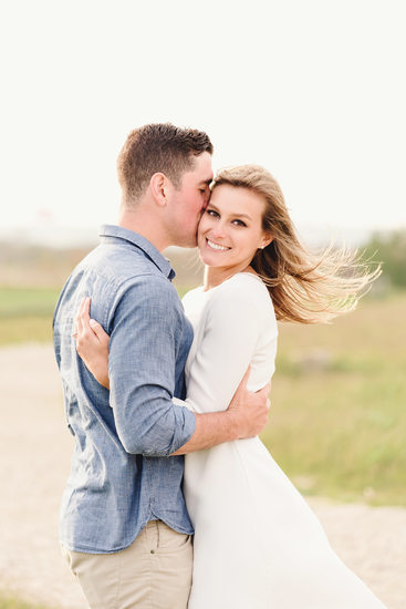beautiful engaged girlfriend surfside beach nantucket